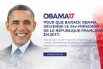 Chuyện thật như đùa: Người Pháp muốn ông Obama tranh cử tổng thống