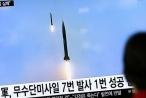 Sau tuyên bố không sợ Mỹ, Triều Tiên tiếp tục phóng tên lửa