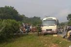 Nữ sinh đang trên đường đến trường bị xe khách cán tử vong tại chỗ