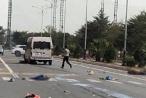 Quảng Ninh: Tai nạn giao thông nghiêm trọng hai người thương vong, ô tô bốc cháy nghi ngút