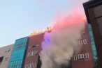 Bệnh viện Bưu Điện phát hỏa, khói bốc nghi ngút nhiều người phát hoảng