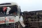 """Tai nạn trên cao tốc Nội Bài - Lào Cai, xe khách """"phơi bụng"""" nhiều người bị thương"""