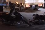 Bình Dương: Xe máy đấu đầu, 2 người nguy kịch