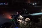 Bình Dương: Hai xe máy va chạm trong đêm, 4 người bị thương