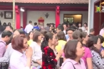 Hàng trăm nghìn lượt du khách về Phủ Tây Hồ những ngày đầu xuân