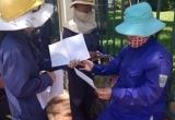 Công nhân công ty MTĐT kêu cứu trước cổng Thành ủy Đà Nẵng