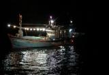 Cứu nạn thuyền viên tàu cá bị tai biến khi đi biển hành nghề