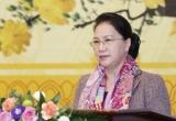 Chủ tịch Quốc hội gặp mặt báo chí nhân dịp Xuân Kỷ Hợi
