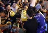 Báo động trào lưu sử dụng 'bóng cười' tại Nghệ An