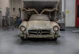 Niên đại càng cao, giá trị xe Mercedes-Benz Gullwings 300SL càng lớn
