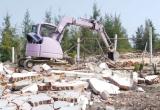 Tiếp tục cưỡng chế lấn chiếm đất tại Khu kinh tế Nhơn Hội