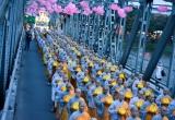 Huế: Trang nghiêm rước Phật từ quốc tự Diệu Đế đến tổ đình Từ Đàm