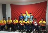 Thi đấu thăng hoa, đoàn thể thao Việt Nam giành 'cơn mưa vàng' Asian Para Games 2018