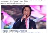 NSƯT Quang Lý đột ngột qua đời: Cộng đồng mạng xót thương