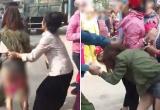 Ghen tuông, 2 phụ nữ lột sạch quần áo tình địch rồi quay clip tung lên mạng xã hội