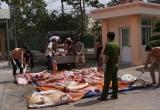 Bình Dương: Bắt giữ gần 2 tấn thịt heo bẩn chuẩn bị đi lên bàn ăn