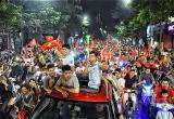 Hơn 1.000 cảnh sát giữ an ninh cho trận bán kết của đội Việt Nam