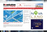 Ra mắt chuyên trang điện tử Doanh nhân & pháp luật