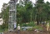 Hoàn thành đoạn đường dây 220 kV sau 3 ngày đêm thi công liên tục