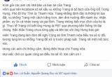 """Cô gái bị đồn là """"bồ nhí"""" của Phó bí thư tỉnh Thanh Hóa Đỗ Trọng Hưng lên tiếng"""