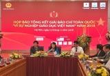 """43 tác phẩm đạt giải báo chí toàn quốc """"Vì sự nghiệp giáo dục Việt Nam"""" năm 2018"""