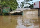 Vào vùng rốn lũ sông Bưởi: Hơn nghìn người cầm cự giữa mênh mông biển nước