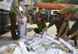 Thanh Hóa: Hơn 6.700 bao thuốc lá lậu bị bắt giữ