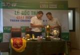 Khởi tranh giải bóng đá phong trào Thanh Chương Open lần 7 tại Thủ đô