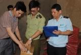 Lực lượng chống buôn lậu bắt giữ 6 xe chở hàng lậu