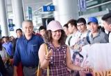 Anandi trong Cô dâu 8 tuổi được fan chào đón nồng nhiệt ở sân bay Tân Sơn Nhất