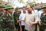 Thủ tướng Nguyễn Xuân Phúc chỉ đạo khắc phục hậu quả mưa bão tại Hà Tĩnh