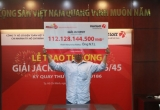 Khách hàng may mắn tại Đồng Nai nhận giải Jackpot 112 tỷ đồng từ Vietlott