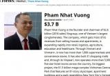 Tỷ phú Việt vượt ông Donald Trump, chi 400 tỷ đồng vợ sếp ngân hàng lọt top người giàu