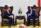 Phó Thủ tướng Vương Đình Huệ tiếp Đại sứ, Trưởng phái đoàn của Liên minh Châu Âu (EU) tại Việt Nam
