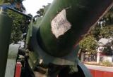 Nhiều nghi vấn xung quanh chất lượng khẩu pháo đồng tại di tích pháo đài Xuân Tảo