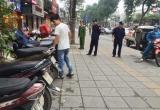 Công an phường Giảng Võ ra quân xử lý vi phạm dịp Tết Nguyên đán