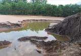 Làm rõ vụ vỡ thân đập bãi thải chứa quặng vàng ở Bồng Miêu