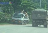 Bắc Giang: Bí thư Bùi Văn Hải chỉ đạo, xe có dấu hiệu quá tải vẫn 'nhông nhông' trên QL 37