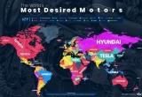 Mức độ phổ biến của các thương hiệu xe trên Google thế nào?