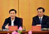 Phó Thủ tướng Vương Đình Huệ làm việc với Bộ Tài chính
