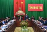 Thủ tướng Nguyễn Xuân Phúc làm việc với lãnh đạo tỉnh Phú Thọ