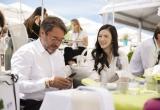 Lý Nhã Kỳ thanh lịch trong tiệc riêng gặp gỡ giới điện ảnh tại Cannes