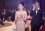 Á hậu Trương Thị May  diện váy lộng lẫy dự sự kiện tại Campuchia