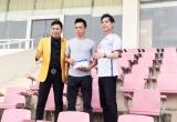 Ca sĩ Michael Lang cùng thầy Ngọc Sơn trao tặng 250 triệu đồng cho Olympic Việt Nam
