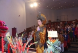 Trịnh Kim Chi tất bật chuẩn bị mọi công đoạn cho giỗ Tổ sân khấu trang nghiêm