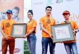 Dy Khả Hân cùng Mai Phương Thuý, Đoan Trang, Hứa Vỹ Văn... chạy bộ vì trẻ em hở hàm ếch