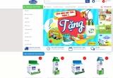 """Vinamilk ra mắt website thương mại điện tử """"Giấc mơ sữa Việt"""""""