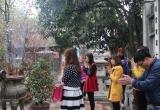 Hà Nội: Giới trẻ nô nức tới Chùa Hà cầu duyên đầu xuân