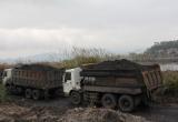 """Khai thác khoáng sản trái phép ở Quảng Ninh: Doanh nghiệp """"vờ"""" san lấp mặt bằng để trộm than"""