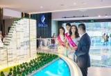 Tân hoa hậu Đỗ Mỹ Linh ghé thăm căn hộ mẫu River City